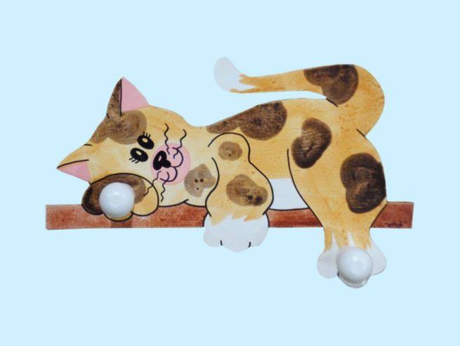appendiabito gatto 2 posti