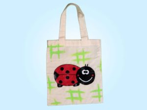 borsa shopping coccinella