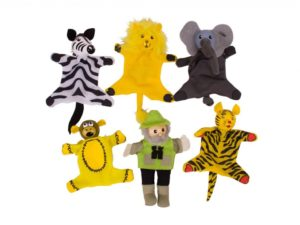 marionetta da dito , animali dello zoo , safari, giungla,finger puppet, zoo animals, safari, jungle, bigjigs toys