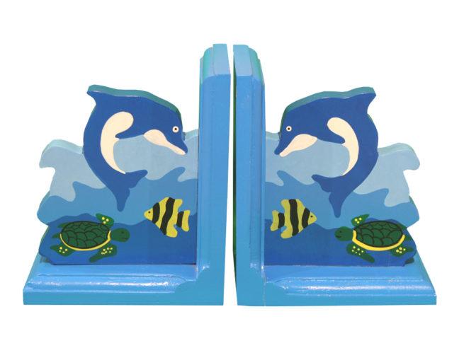fermalibri delfino tartaruga , regalo ideale per giovani scrittori