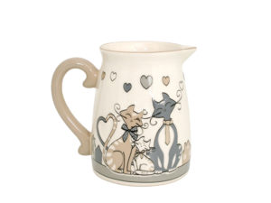 lattiera micio , collezione di gatti,regalo per amanti dei gatti ,dairy cat, collection of cats, gifts for cat lovers