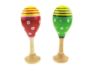 piccole maracas per i bambini, regalo per giovani musicisti, small maracas for children, gift for young musicians