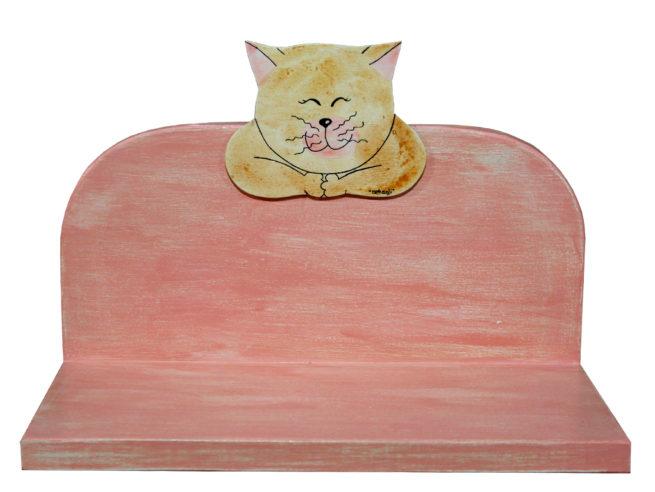 mensolina rosa ideale per la cameretta del tuo bambino