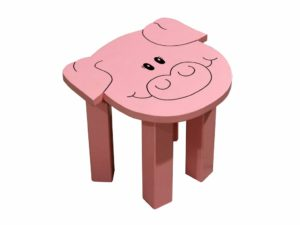 sgabello panchetto maiale, regalo ideale per bambino , accessorio per la cameretta, maiale da collezione, stool stool pork, ideal gift for baby accessory for the bedroom, pig collectibles,