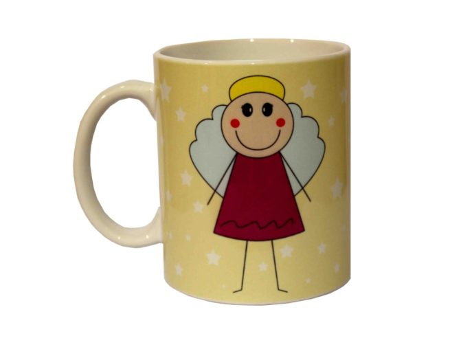 cup angel, dedicated to the mother, un angelo di mamma , regalo per la festa della mamma