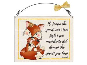 targa per porta , targa personalizzabile con ferretto,frasi per i figli, volpe ,oggettistica con volpi, frasi spiritose , aforismi , creazioni Dettagli cagliari,license plate holder for customizable Underwired sentences for children, fox, objects with foxes, witty phrases, aphorisms, creations Details Cagliari,