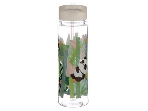 bottiglia riutilizzabile con panda, puckator