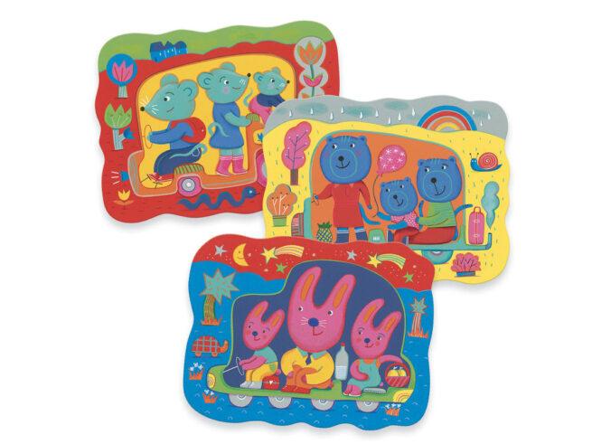 colorare con l'acqua, primi giochi creativi per bambini piccoli djeco, dj09066