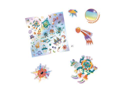 adesivi cangianti, stickers djeco, dj09265