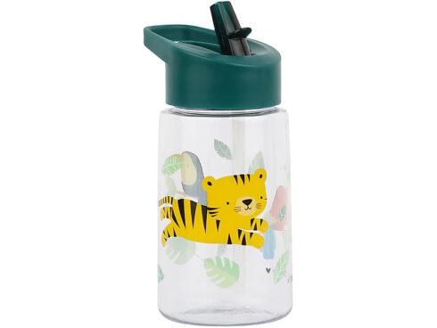 bottiglia riutilizzabile con cannuccia e becco, animali, a little lovely company