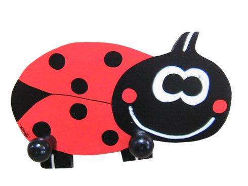 hanger ladybug, baby furniture, collezione di coccinelle, regalo per bambini