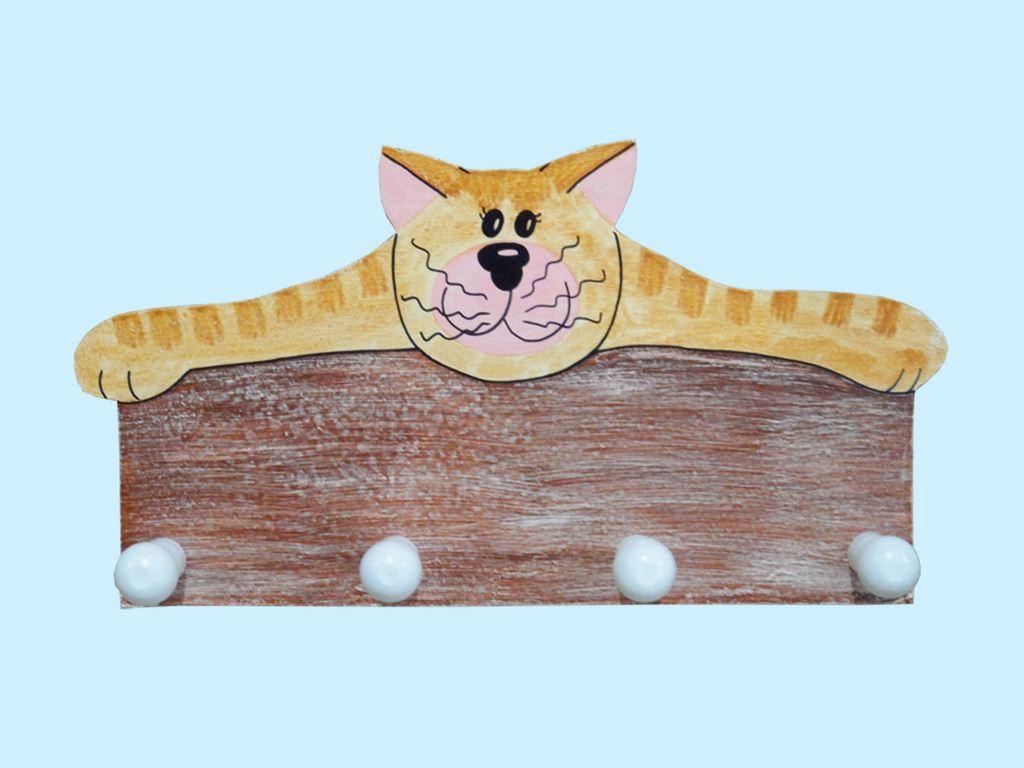 appendiabito gatto 4 posti