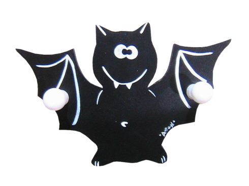 appendino spiritoso per bambino , vendita online oggetti con pipistrelli, creazioni dettagli cagliari, witty hanger for baby, online sale of objects with bats, creations details cagliari,