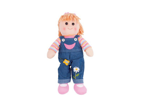 morbida e tenera bambola , amica ideale delle bambine, bigjigs toys,soft and tender doll, ideal girlfriend girls, bigjigs toys