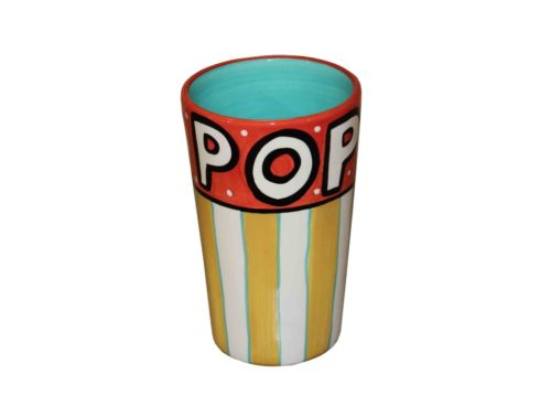 tazza contenitore barattolo per pop corn,tin cup container for popcorn,