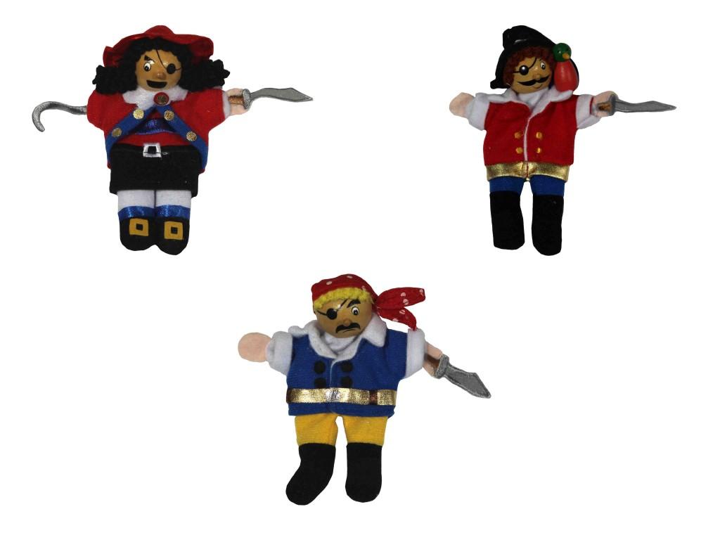 burattini ,marionette con i personaggi dei pirati nei caraibi,puppets, marionettes with the characters of pirates in the Caribbean,