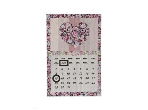 perpetual calendar, calendario senza fine , perpetuo , regalo per san valentino