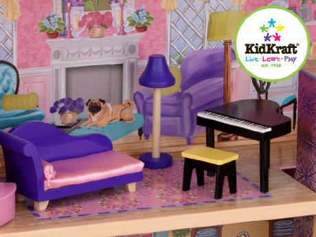 casa per bambole barbie,barbie doll's house,kidkraft 65082