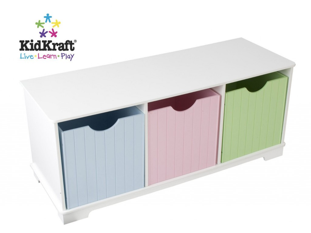 cassapanca per bambini, contenitore da cameretta, per tenere in ordine ,complementi per camerette,settle for children, container room, to keep in order, accessories for children's rooms,kidkraft