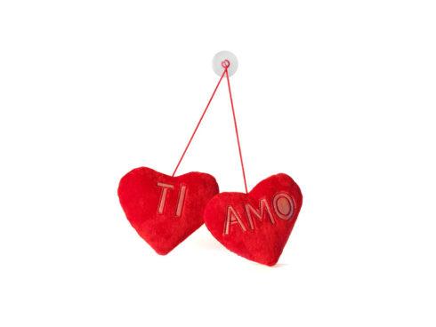 san valentino esprimere i propri sentimenti amore cuore rosso ti amo regalo per l'auto