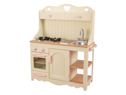 cucina romantica vintage retrò per bambini,cucina giocattolo quasi reale,Vintage retro kitchen for children, toy kitchen near real-,kidkraft 53151