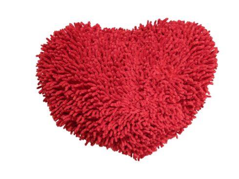 san valentino cuore ciniglia da coccolare tenero regalo cuscino da stringere