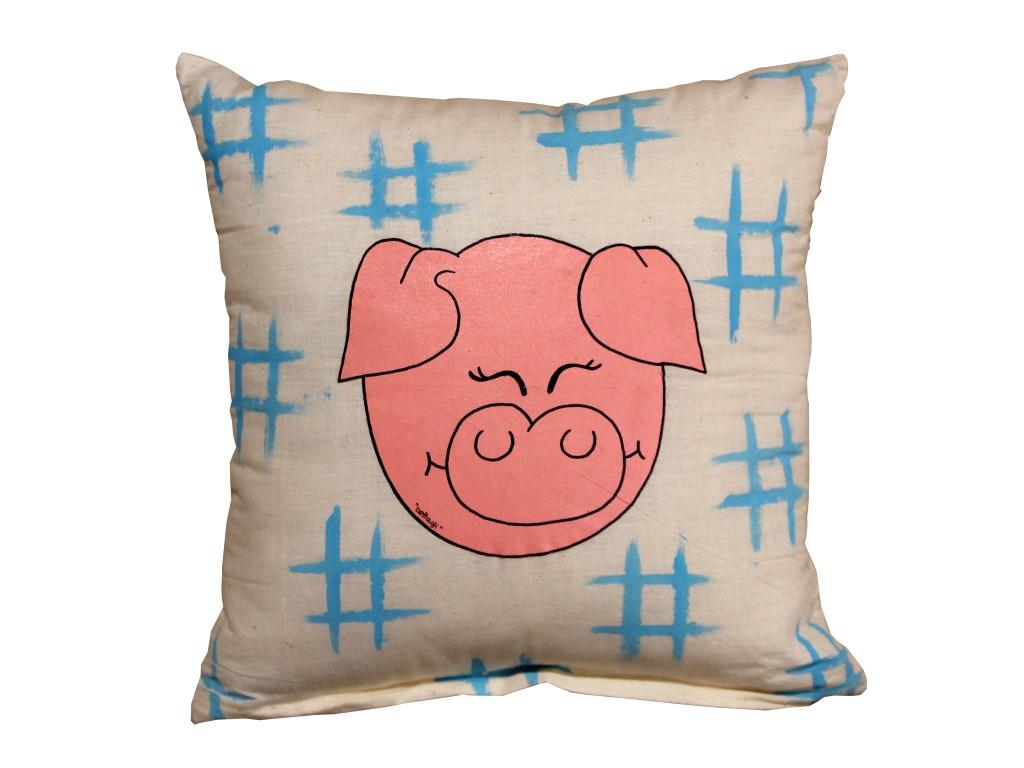 morbido cuscino per amanti dei maiali complemento d'arredo per la cameretta collezioni di maiali