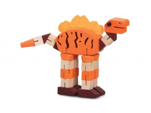 dinosauro in legno modellabile, giochi di una volta ,tobar ,dinosaur wooden moldable, games once, tobar