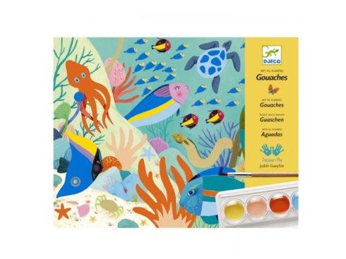 set per bambini per dipingere