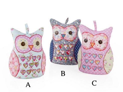owl like an owl doorstop, ferma porta civetta