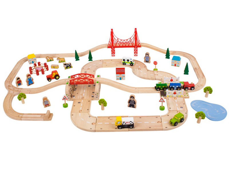 pista per le auto, ferrovia di legno, per gli amanti delle macchine, track for cars, wooden railway, for car lovers, bigjigs toys