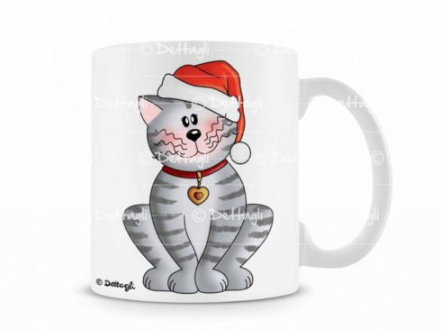tazza personalizzabile con gatto, tazza con nome,tazza per natale , oggettistica con gatti, oggettistica per natale,idea regalo per natale, creazioni dettagli cagliari,mug personalized with cat, cup with name, mug for Christmas, gifts with cats, gifts for Christmas, gift idea for Christmas, details creations Cagliari,