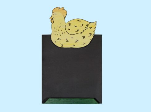 lavagna gallina