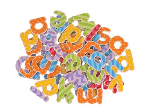 giochi didattici ed educativi , lettere in legno, lettererine magnetiche