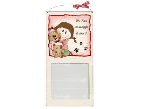 memo, blocco per appunti con dedica al cane, per scrivere cosa manca , personalizzabile con frasi spirittose,vendita on line di oggettistica e regali con il cane, creazione Dettagli Cagliari,memo pad with a dedication to the dog, to write what is missing, customizable phrases spirittose, online sale of objects and gifts with the dog, creating Details Cagliari,