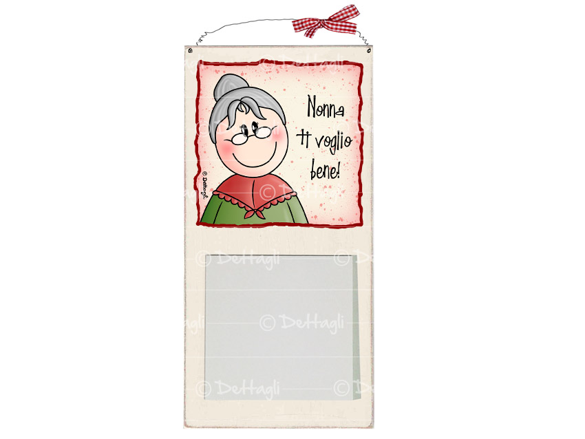 memo, blocco per appunti con dedica alla nonna, per scrivere cosa manca , personalizzabile con frasi spirittose,vendita on line di oggettistica e regali per la nonna, creazione Dettagli Cagliari,memo pad with a dedication to her grandmother, to write what is missing, customizable phrases spirittose, online sale of objects and gifts for grandma, creation details Cagliari,