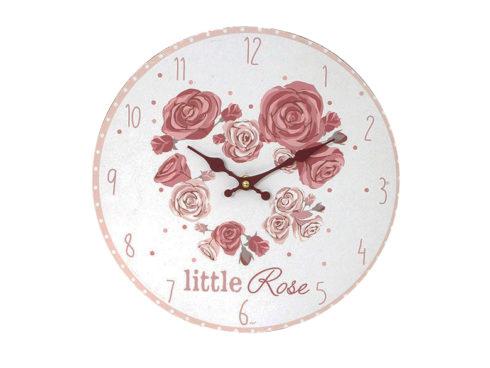orologio con rose , romantico, home decor, oggettistica shabby chic,Alarm roses, romantic, home decor, gifts shabby chic,