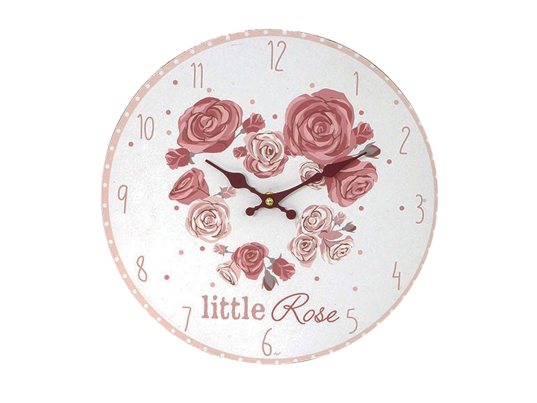 orologio con rose , romantico, home decor, oggettistica shabby chic,Alarm roses, romantic, home decor, gifts shabby chic,