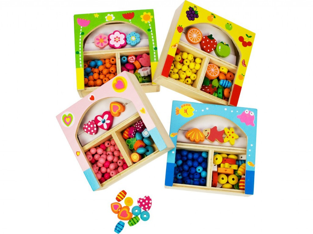 perline di legno, gioco didattico , regalo per piccole principesse, wooden beads, educational game, gift for little princesses, bigjigs toys