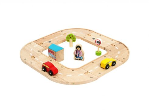 pista per le auto, ferrovia di legno, per gli amanti delle macchine, track for cars, wooden railway, for car lovers, bigjigs toys