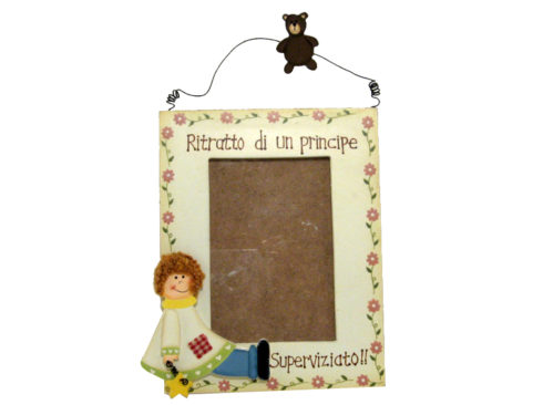 Prince brings photos, gift for child , regalo per bambino ,porta ritratto per piccoli principi