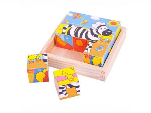gioco puzzle con gli animali della giungla , animali giocattoli , regalo da 18 mesi, game with animal, safari toys, gift 1 year, bigjigs toys