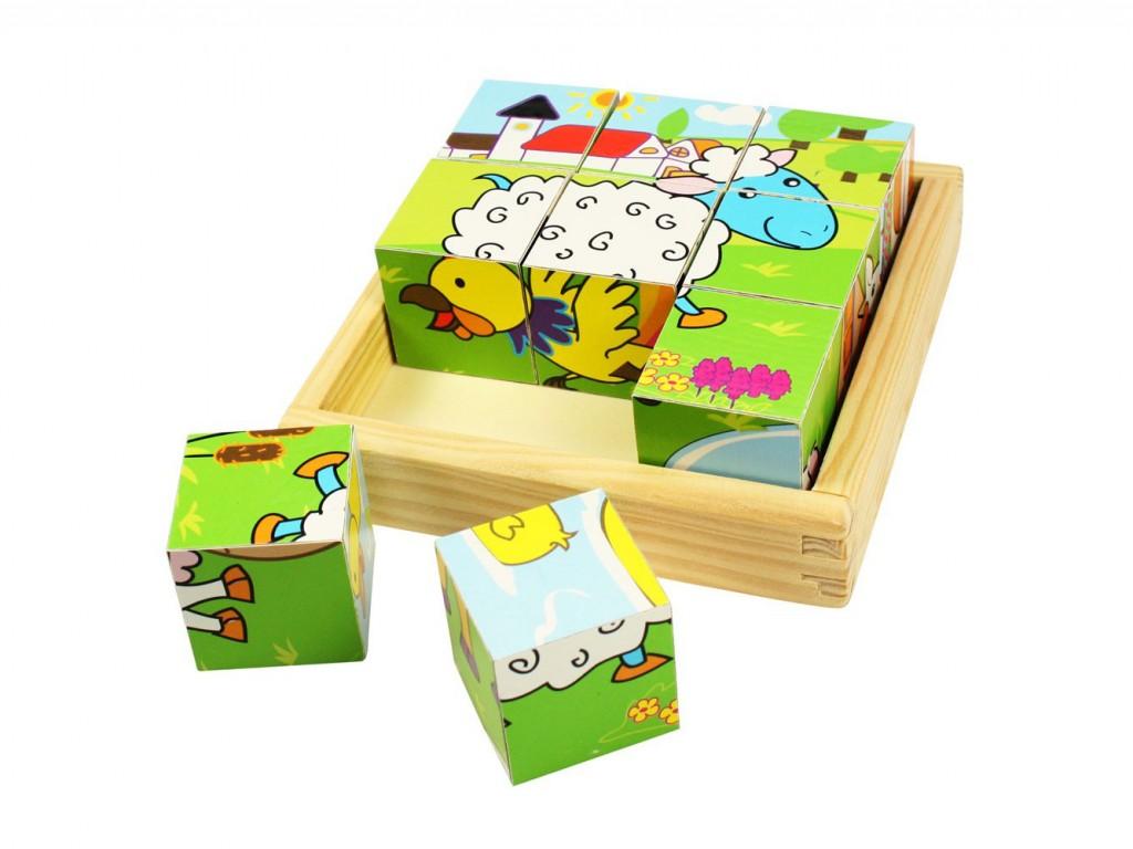 gioco puzzle con gli animali della fattoria , animali giocattoli , regalo da 18 mesi, game with animal toys, gift 1 year, bigjigs toys