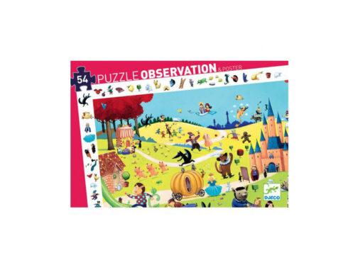 puzzle disegno d'osservazione per bambino , dj07561