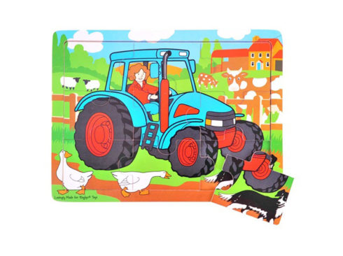 puzzle in legno per bambini piccoli, trattore per bambini,gioco per la concentrazione e l'osservazione ,giocattoli in legno, bigjigs ,Wooden puzzle for young children, children's tractor, concentration game and observation game, wooden toys, bigjigs