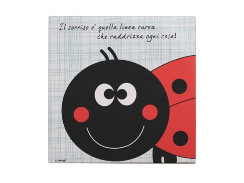 quadro personalizzato artigianale, quadro con coccinella,coccinella da collezione,quadri per camerette, quadri per bambini , clip art ,quadro con dedica, quadro con scritte spirittose, creazioni Dettagli Cagliari,custom framework craft picture with ladybug, ladybug collectibles, paintings for children's rooms, paintings for children, clip art, picture with dedication, written with spirittose picture creations Details Cagliari,