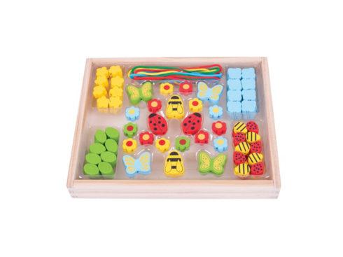 perline di legno, gioco didattico , regalo per piccole principesse, wooden beads, educational game, gift for little princesses,