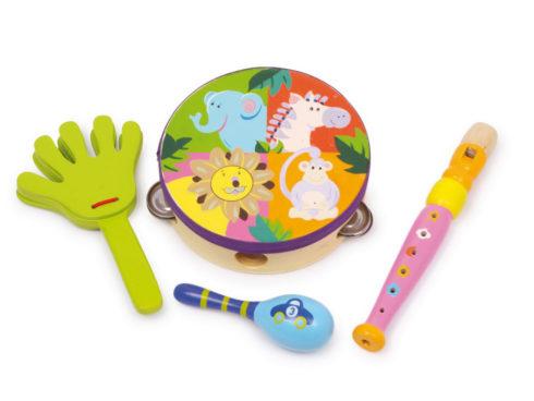 musical instruments for kids, allenare l'orecchio, strumenti per piccoli musicisti, animali della jungla