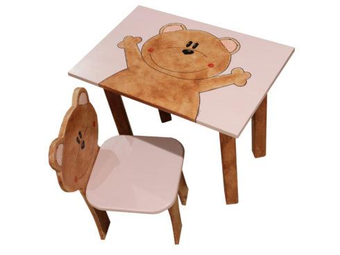 banchetto per bambina complemento per camerette