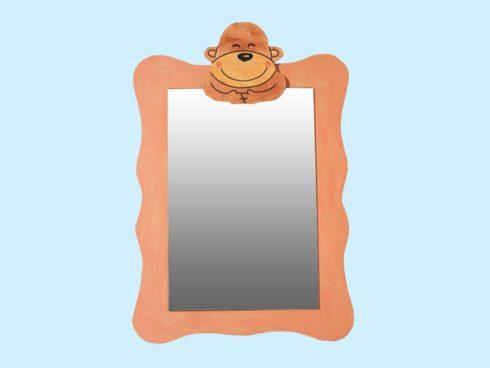 specchio scimmia